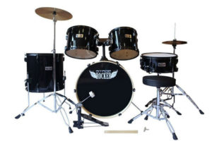 Stage Rocker 5pc Drum Set with double-braced hardware Reviews